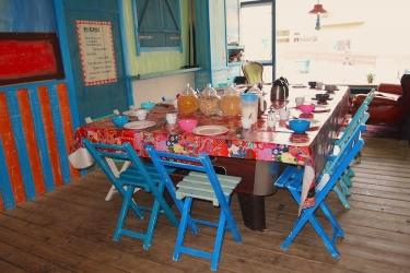 The Flying Pig Beach Hostel: Desayuno NOORDWIJK AAN ZEE