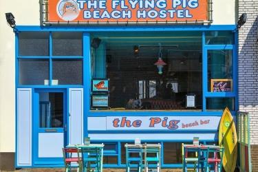 The Flying Pig Beach Hostel: Photo descriptive NOORDWIJK AAN ZEE