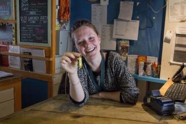 The Flying Pig Beach Hostel: Reception NOORDWIJK AAN ZEE