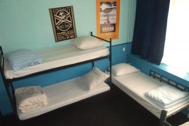 The Flying Pig Beach Hostel: Gastzimmer Blick NOORDWIJK AAN ZEE