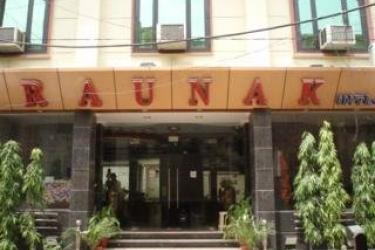 Hotel Raunak International: Esterno NUOVA DELHI