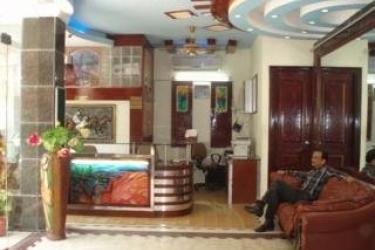 Hotel Raunak International: Hall NUOVA DELHI
