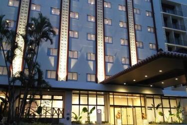 Naha Central Hotel: Hotel front OKINAWA ISLANDS - OKINAWA PREFECTURE
