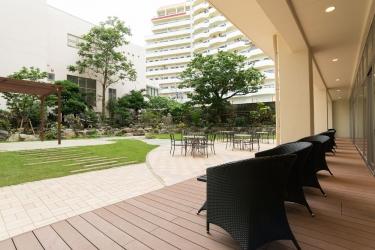 Naha Central Hotel: Garden View OKINAWA ISLANDS - OKINAWA PREFECTURE