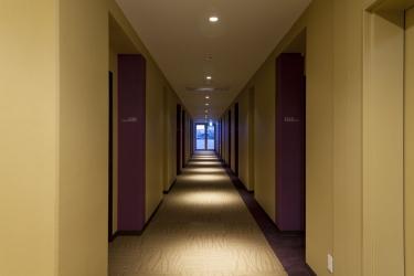 Naha Central Hotel: Hallway OKINAWA ISLANDS - OKINAWA PREFECTURE
