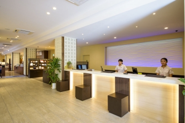 Naha Central Hotel: Reception OKINAWA ISLANDS - OKINAWA PREFECTURE