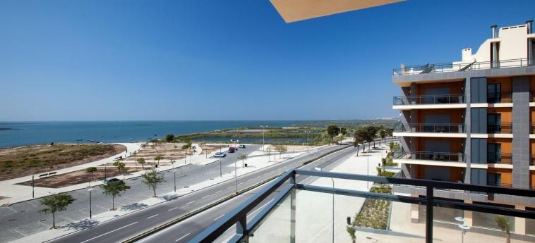 Hotel Real Marina Residence: Terrasse OLHAO - ALGARVE