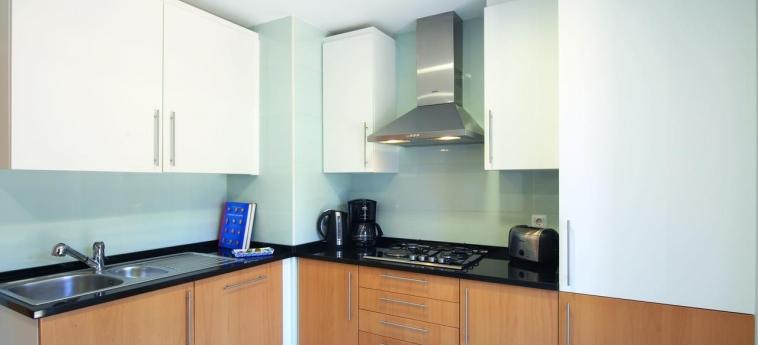 Hotel Real Marina Residence: Kitchen OLHAO - ALGARVE