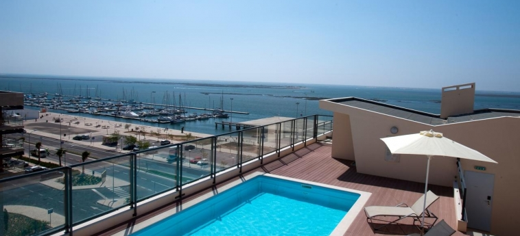 Hotel Real Marina Residence: Sundeck OLHAO - ALGARVE