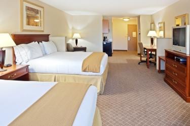 Holiday Inn Express Hotel & Suites Lacey: Habitaciòn OLYMPIA (WA)