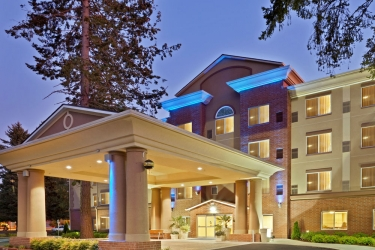 Holiday Inn Express Hotel & Suites Lacey: Esterno OLYMPIA (WA)