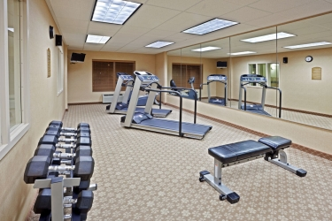 Holiday Inn Express Hotel & Suites Lacey: Palestra attrezzata OLYMPIA (WA)