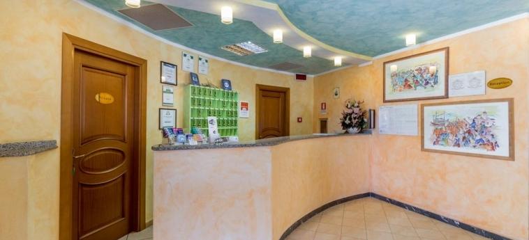 Hotel Baia Marina: Reception OROSEI - NUORO