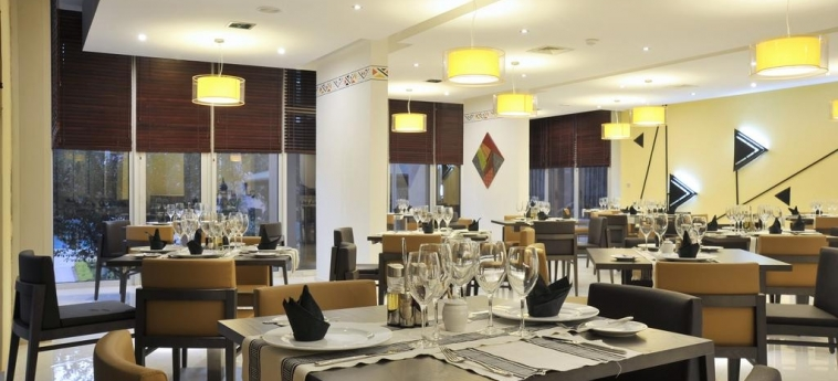 Hotel Sopatel Silmande: Dining Area OUAGADOUGOU