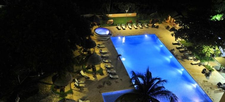 Hotel Sopatel Silmande: Piscine chauffée OUAGADOUGOU
