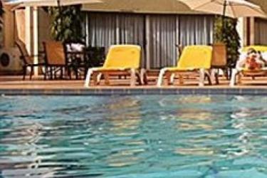 Hotel Splendid: Outdoor Swimmingpool OUAGADOUGOU