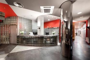 Hotel Exe El Magistral: Recepción OVIEDO