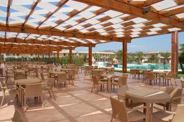 Hotel Minerva Resort: Terrasse PAESTUM - SALERNO