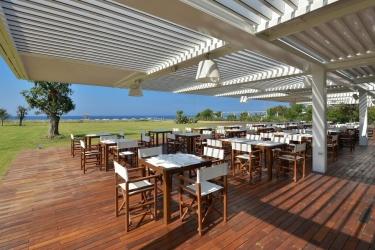 Hotel Savoy Beach: Restaurant Exterior PAESTUM - SALERNO
