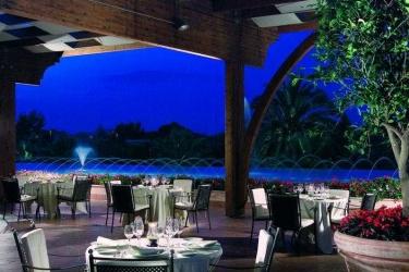 Hotel Savoy Beach: Terrasse PAESTUM - SALERNO