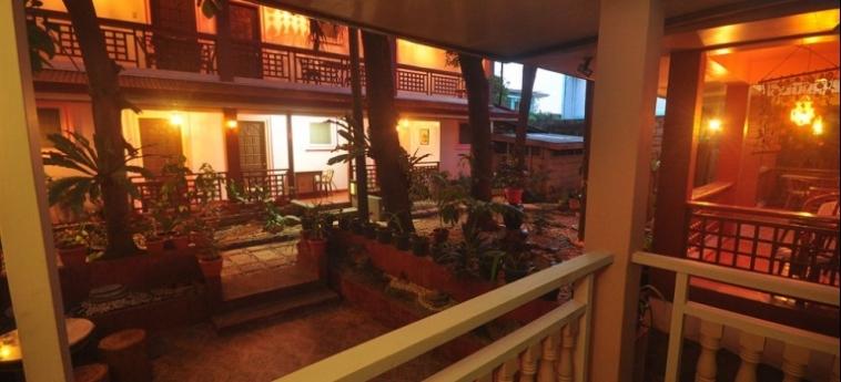 Lola Itang Pension: Dining Area PALAWAN ISLAND