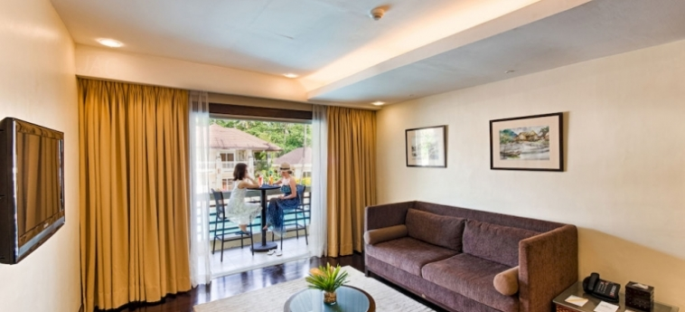 Hotel Sheridan Beach Resort & Spa: Living Room PALAWAN ISLAND