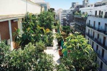 Hotel Gardenia: Aussicht PALERMO