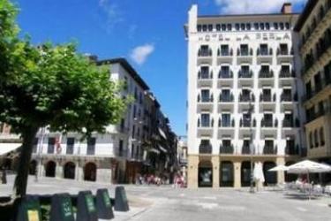 Gran Hotel La Perla: Exterieur PAMPLONA