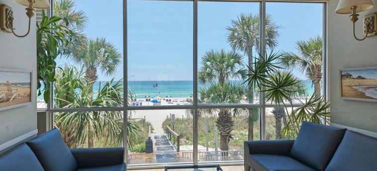 Hotel Legacy By The Sea: Area de Estar PANAMA CITY BEACH (FL)