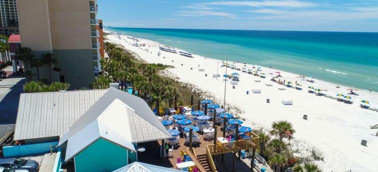 Hotel Legacy By The Sea: Vista a la playa PANAMA CITY BEACH (FL)