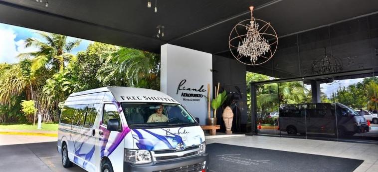 Riande Aeropuerto Hotel & Casino: Außen PANAMA-STADT