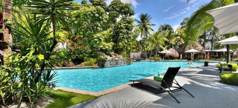 Riande Aeropuerto Hotel & Casino: Außenschwimmbad PANAMA-STADT
