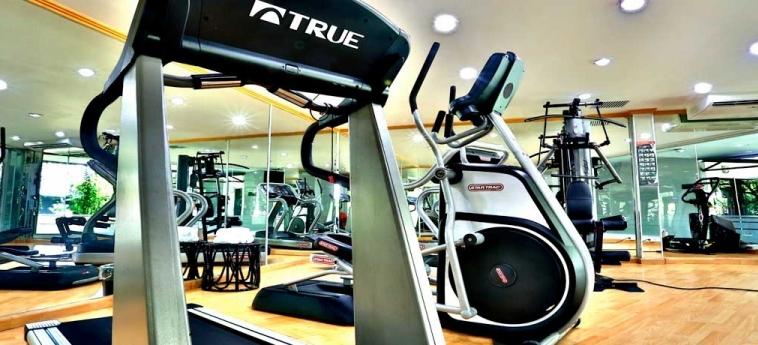 Riande Aeropuerto Hotel & Casino: Fitnessraum PANAMA-STADT