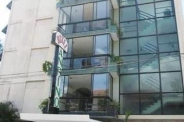 Hotel Andino: Außen PANAMA-STADT