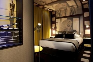 Hotel Platine: Camera Matrimoniale/Doppia PARIGI