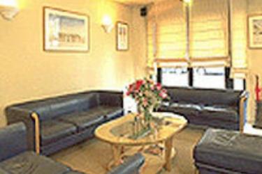 Hotel Libertel Canal Saint Martin: Lounge Bar PARIGI