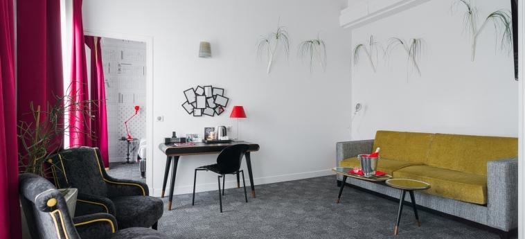 Hotel Joyce - Astotel: Salotto PARIGI