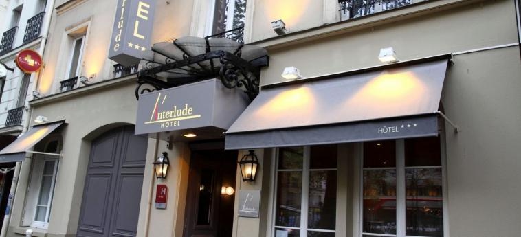 Hotel L' Interlude: Esterno PARIGI