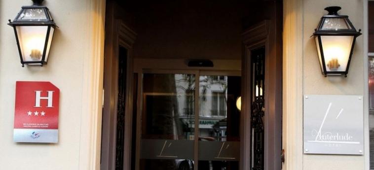 Hotel L' Interlude: Ingresso PARIGI