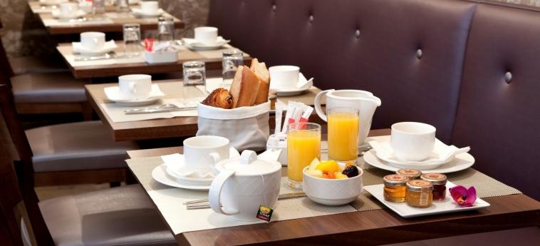 Hotel L' Interlude: Sala Colazione PARIGI