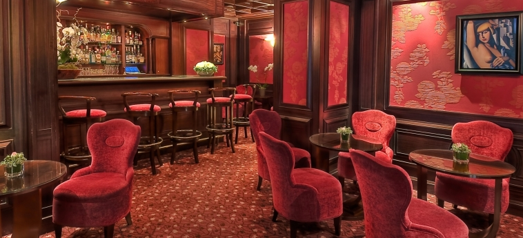 Hotel Rochester Champs Elysees: Bar PARIGI