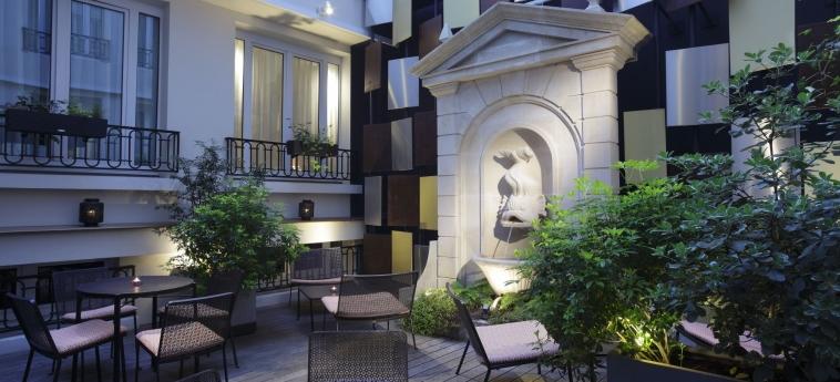 Hotel Rochester Champs Elysees: Dettagli Strutturali PARIGI