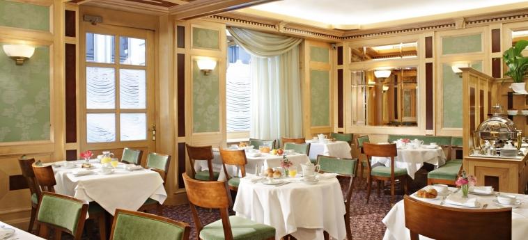 Hotel Rochester Champs Elysees: Ristorante PARIGI