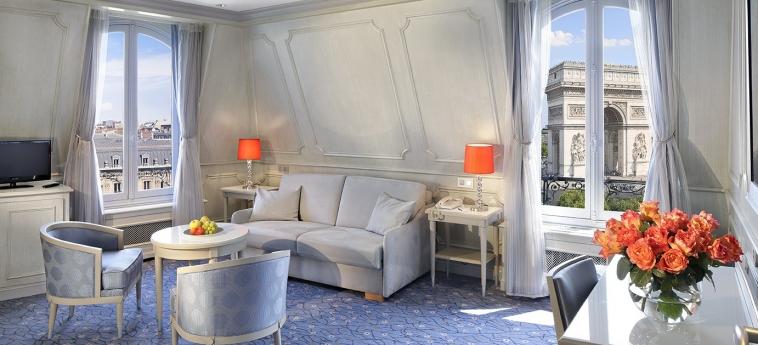 Hotel Splendid Etoile: Living Room PARIGI