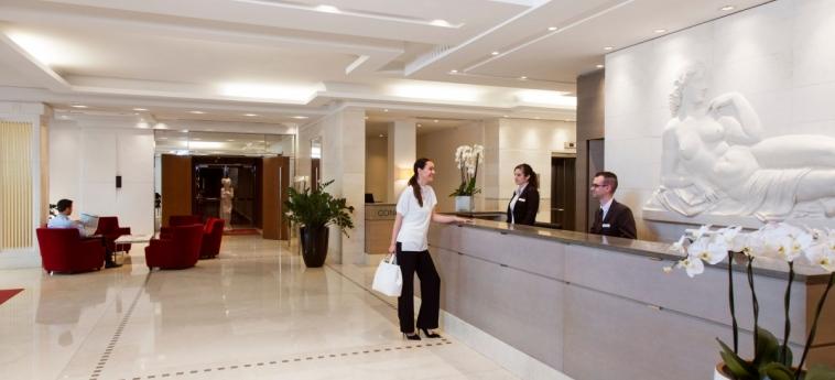Hotel Relais Spa Chessy Val D'europe: Reception PARIS - DISNEYLAND PARIS