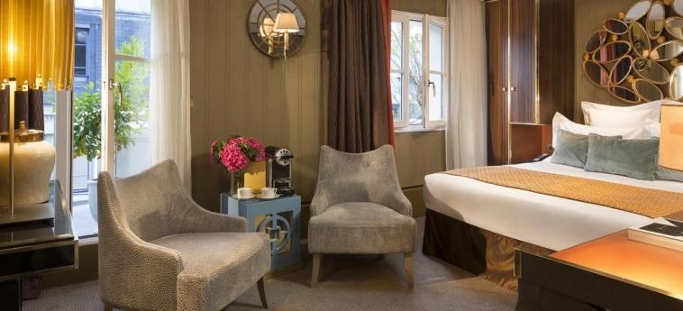 Hotel Baume Paris: Schlafzimmer PARIS