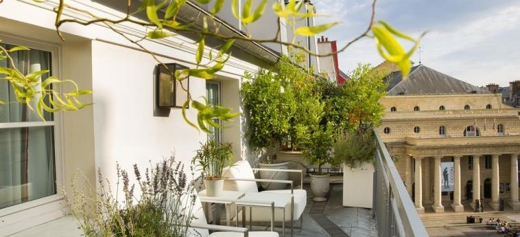 Hotel Baume Paris: Terrasse PARIS
