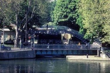 Hotel Libertel Canal Saint Martin: Cour de Recreation PARIS