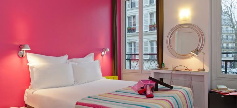 Hotel Bastille De Launay: Schlafzimmer PARIS