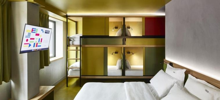 Hotel Yooma Urban Lodge: Gastzimmer Blick PARIS